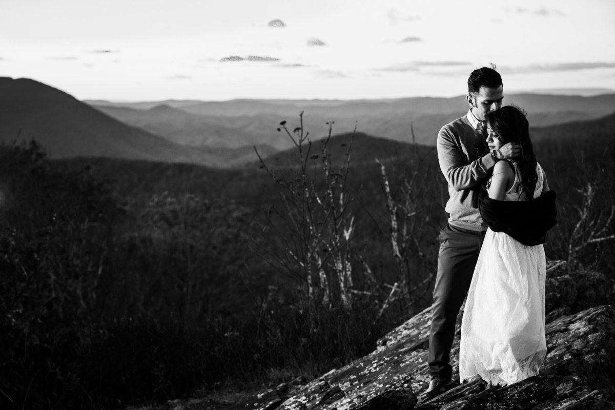 West Jefferson Mountain engagement session by Cass Bradley -60-2