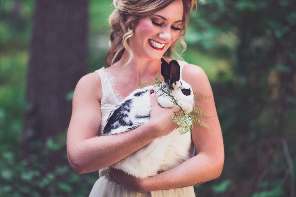 forest-wedding-woodland-bunny-rabbit