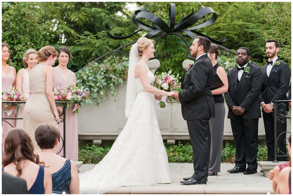 Franklin Park Conservatory Wedding The Palm House Bridal Garden Grove_0074