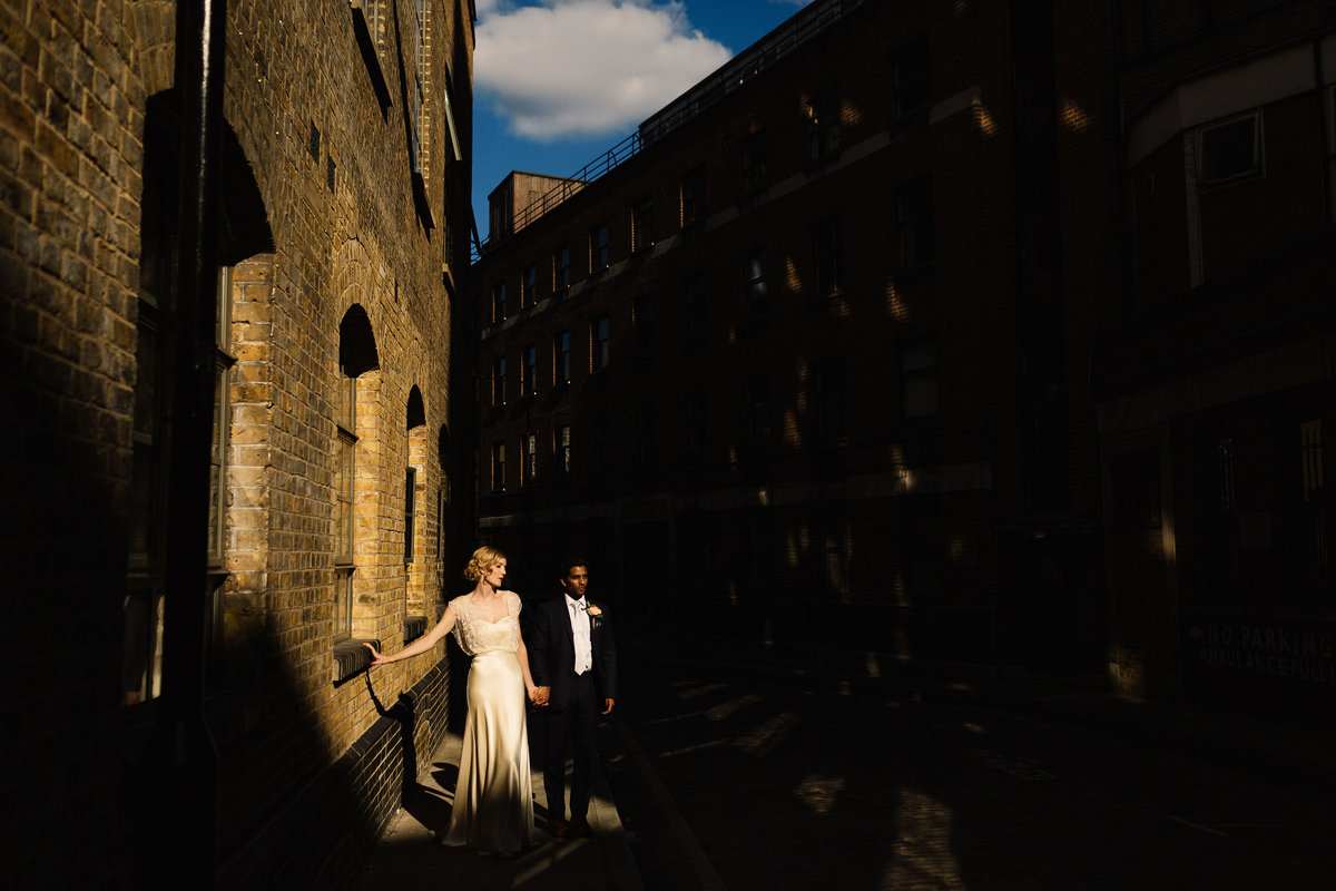 Warehouse Wedding in London