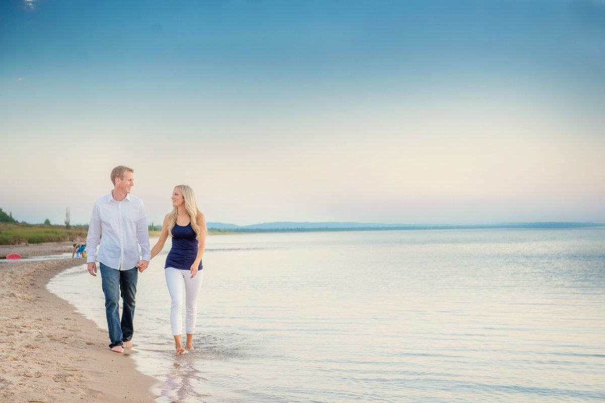 wedding engagement photographers traverse city michigan