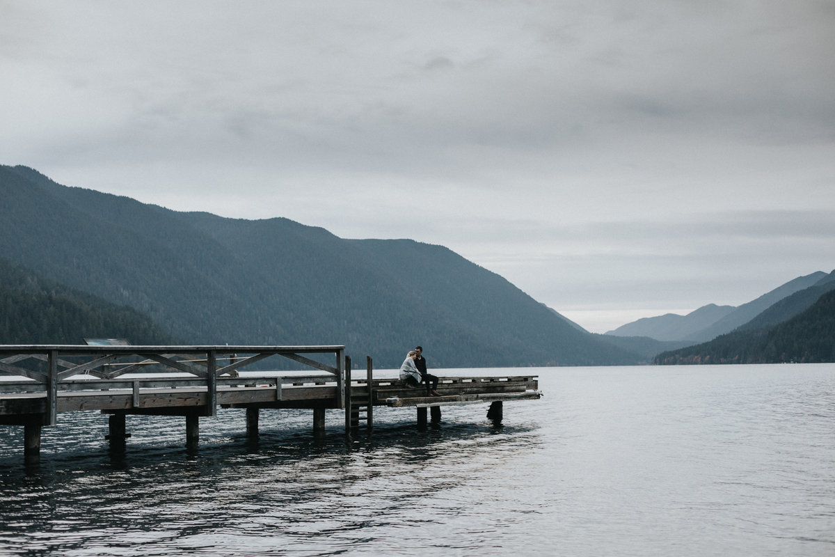 lakecrescent - olympic national park - marymere falls - elopement - engagement session-96