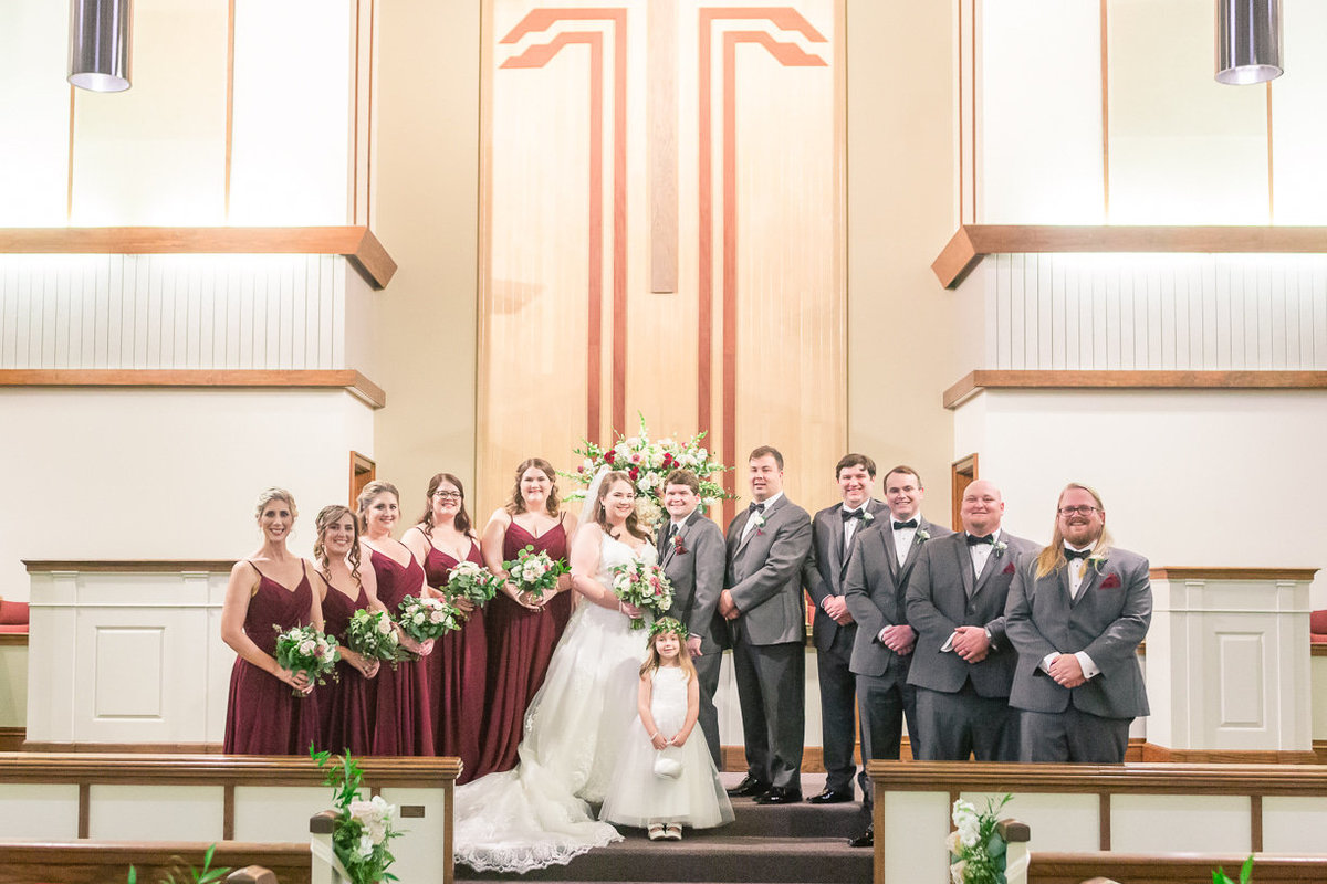 church wedding in Mississippi | Toni Goodie Photography