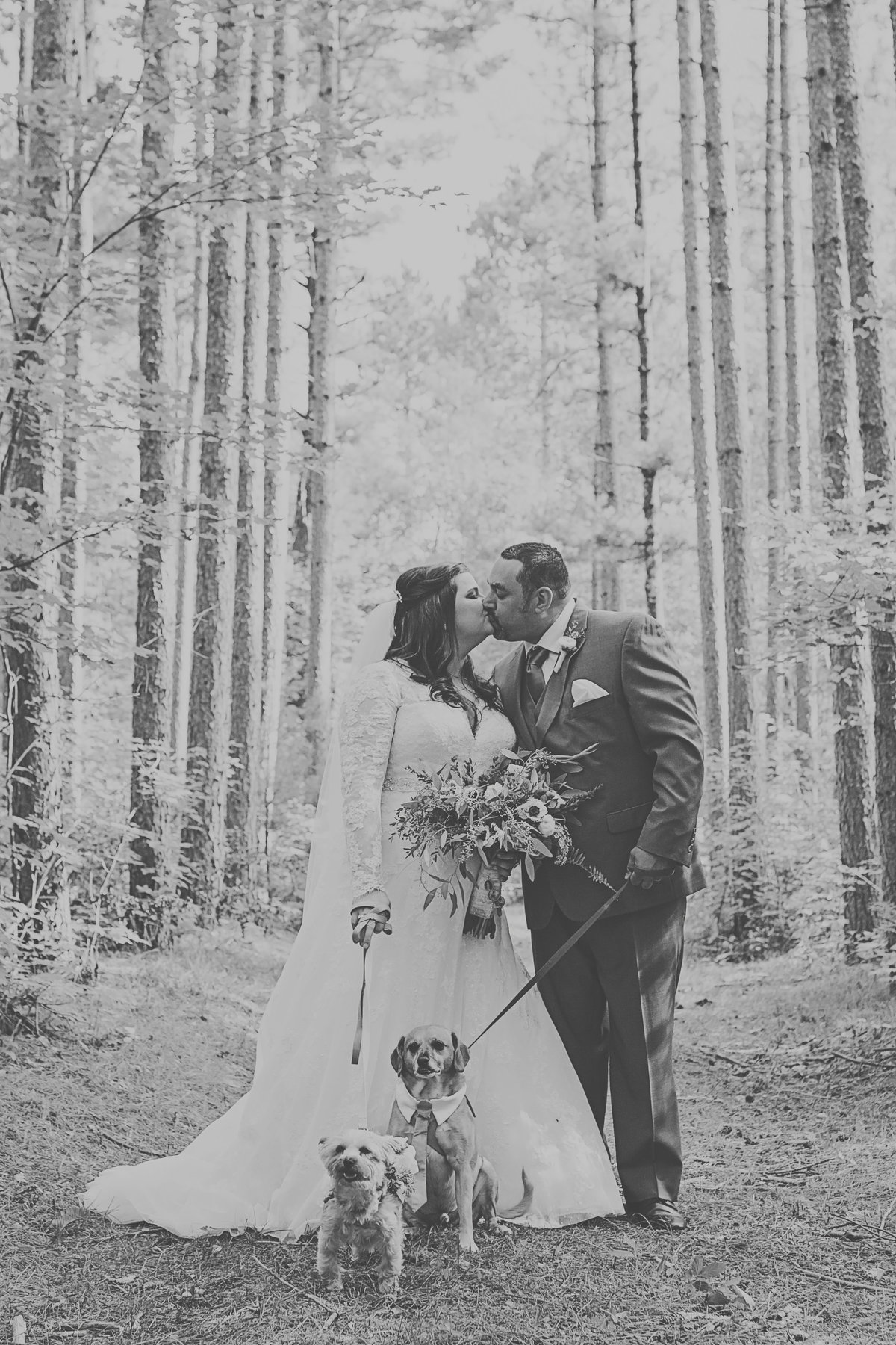 Elegant outdoor forest wedding in the northwoods by Casi Lea Photography-green bay wedding photographer-door county wedding photographer-milwaukee wedding photographer-appleton wedding photographer-wisconsin weddings