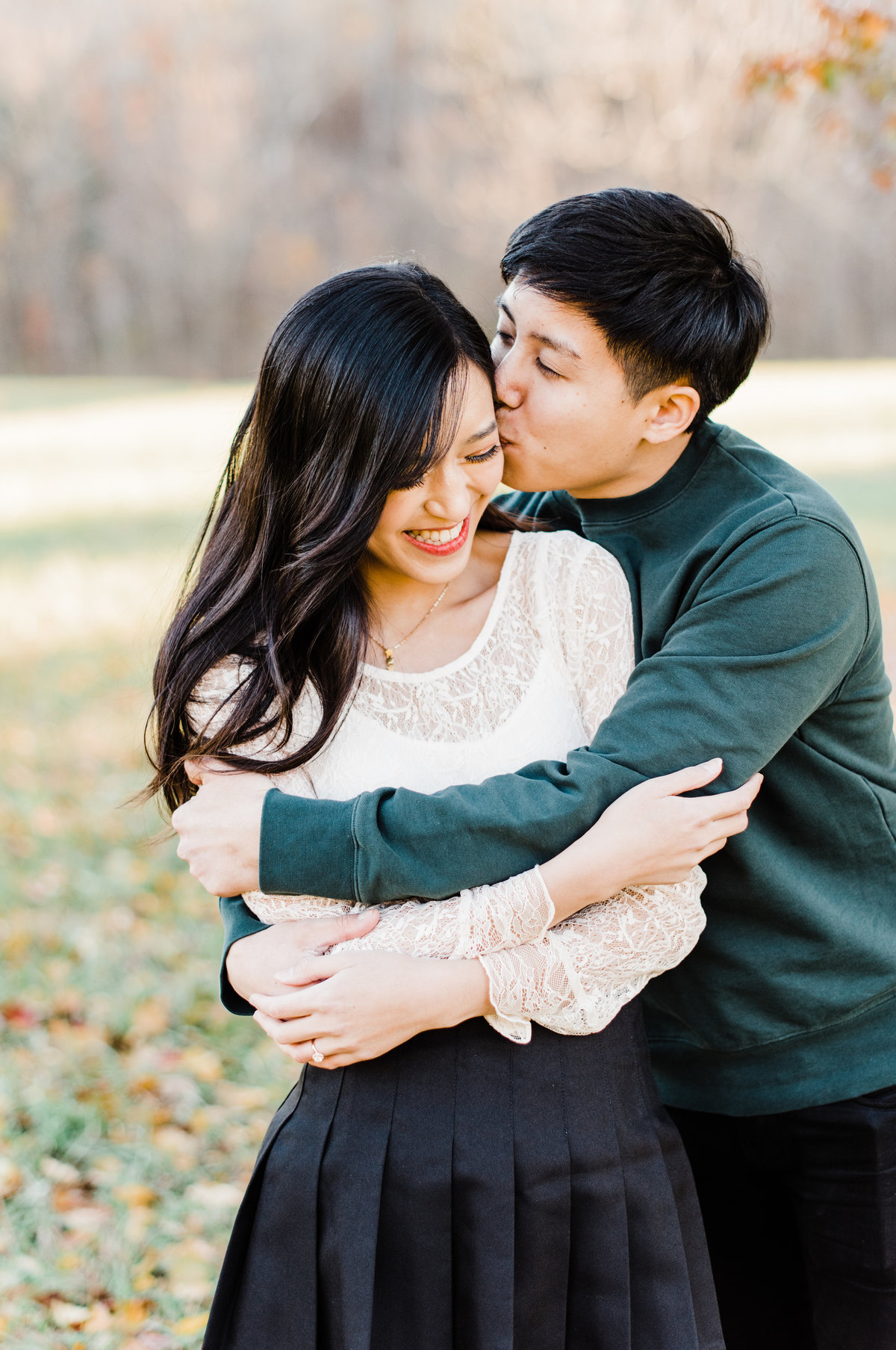 nc engagement portraits photo