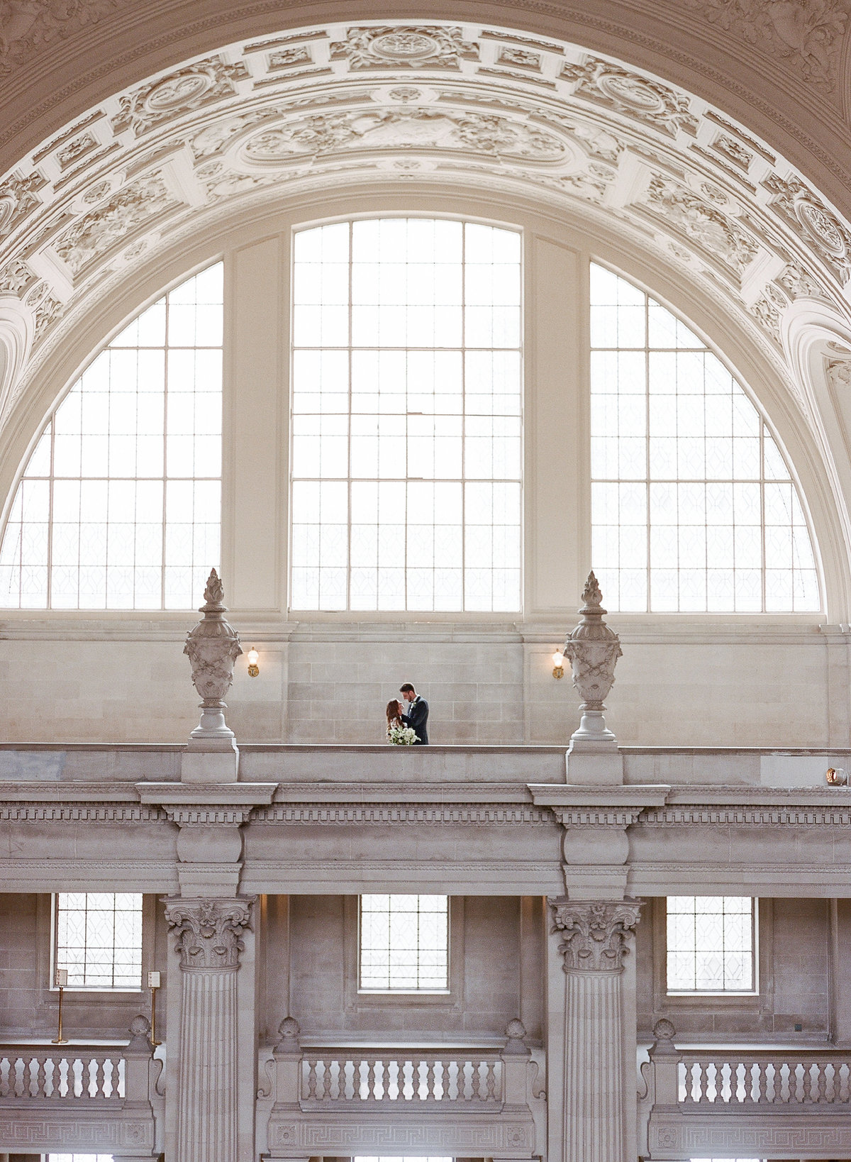 San Francisco City Hall Wedding with Jumpsuit-3