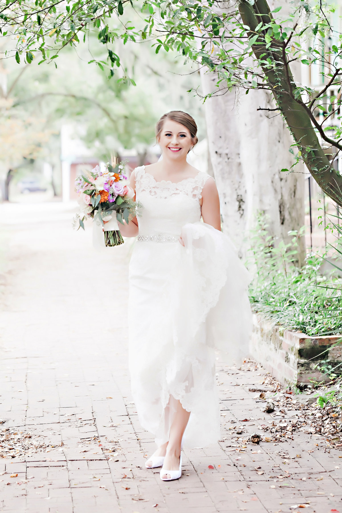 Savannah Bride Brockington Hall Wedding