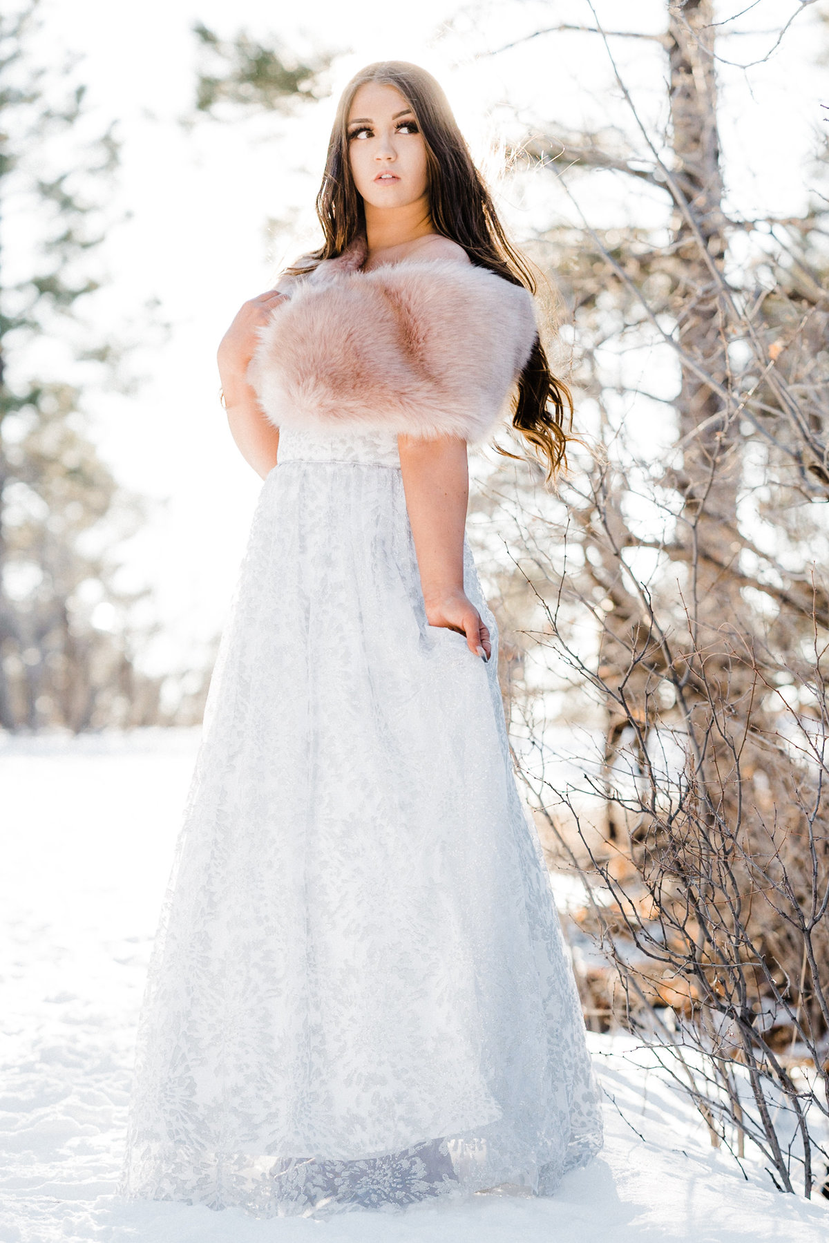 Adventure Winter Glam Bridals Atlas Rose Photography AZ05