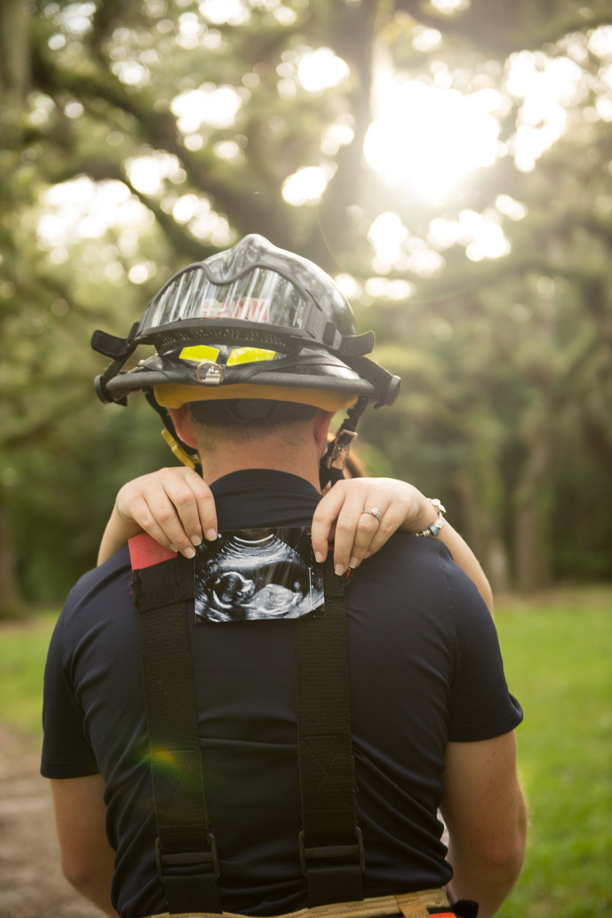 City of Miami Firefighter Maternity Shoot