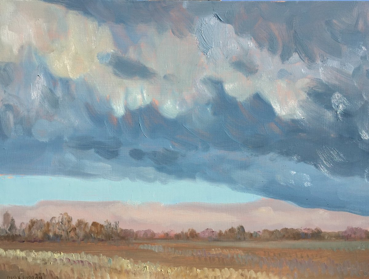 March Clouds 18 x 24 oop 3,000