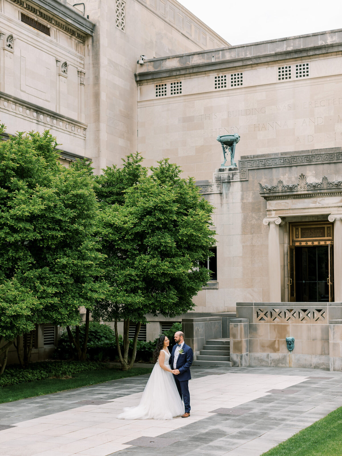 Tiffaney Childs Photography-Florida Wedding Photographer-Christina + Alek-Cincinnati Art Museum-32