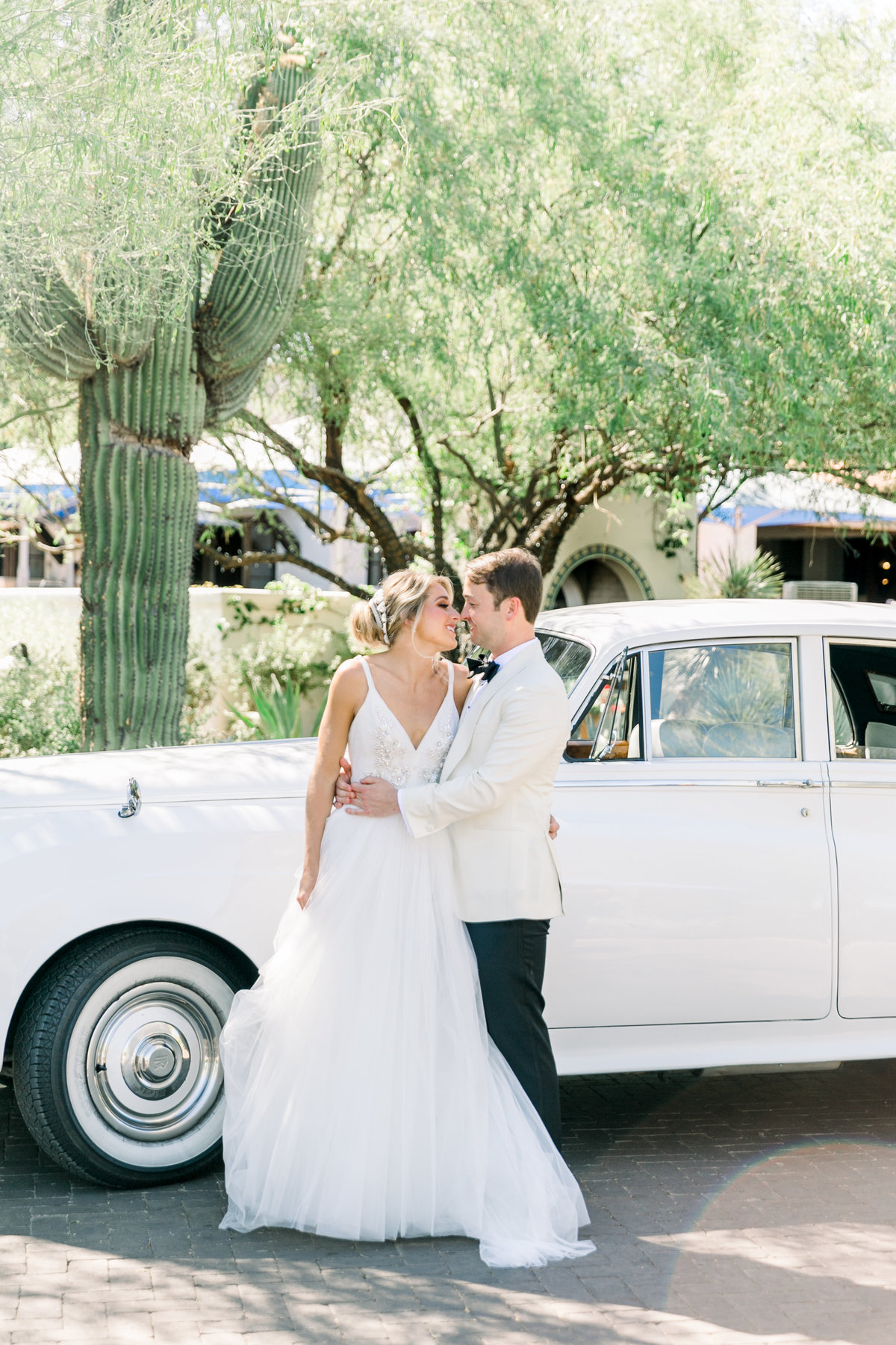 Karlie Colleen Photography - El Chorro Arizona Desert Wedding - Kylie & Doug-300
