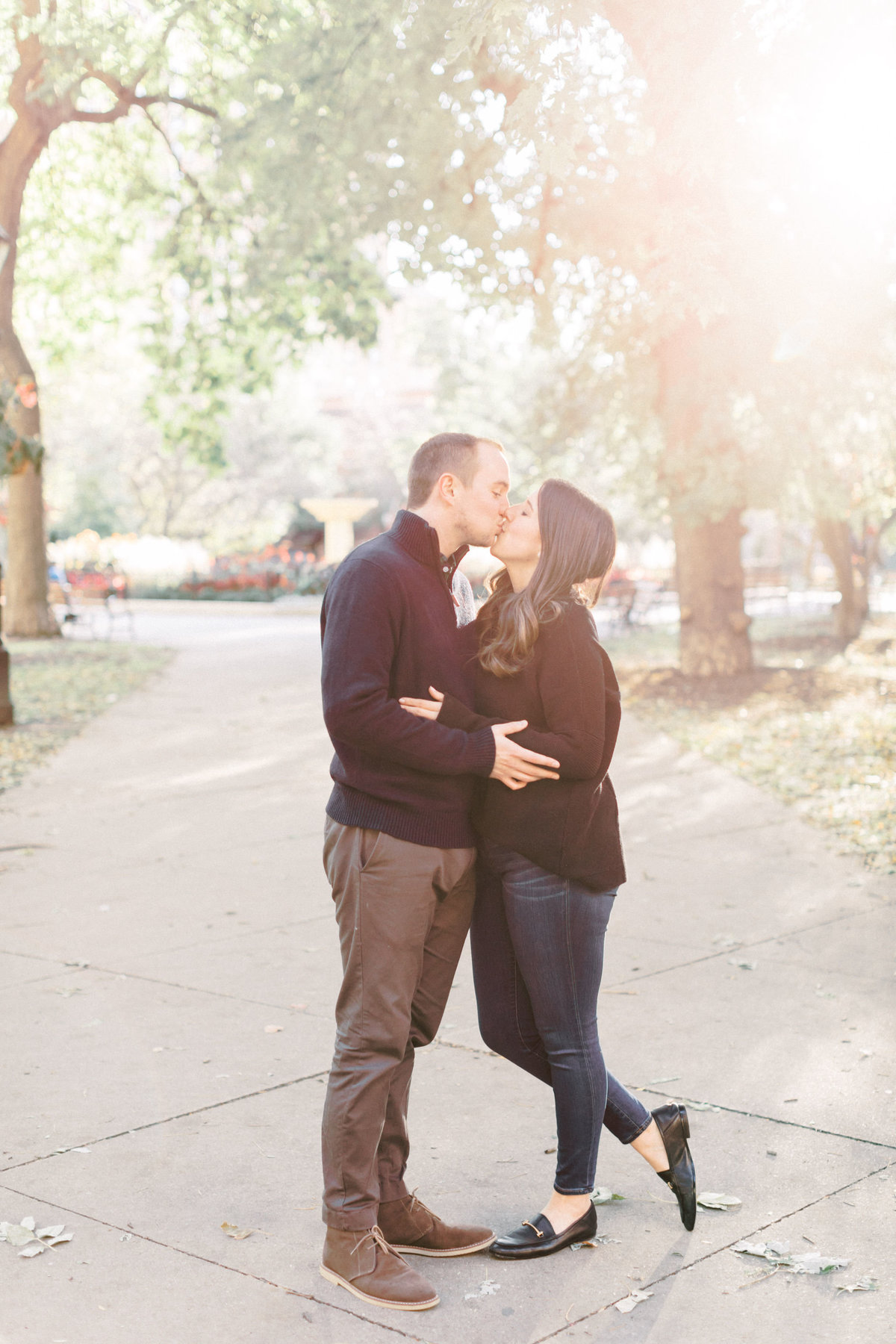 TiffaneyChildsPhotography-ChicagoWeddingPhotographer-Nicole+Christopher-WashingtonSquare&NorthAvenueEngagementSession-81