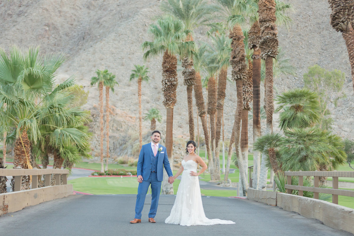 Indian Wells Wedding - Bride and Groom