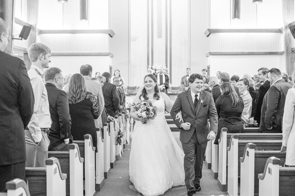 recessional photo | Toni Goodie Photography