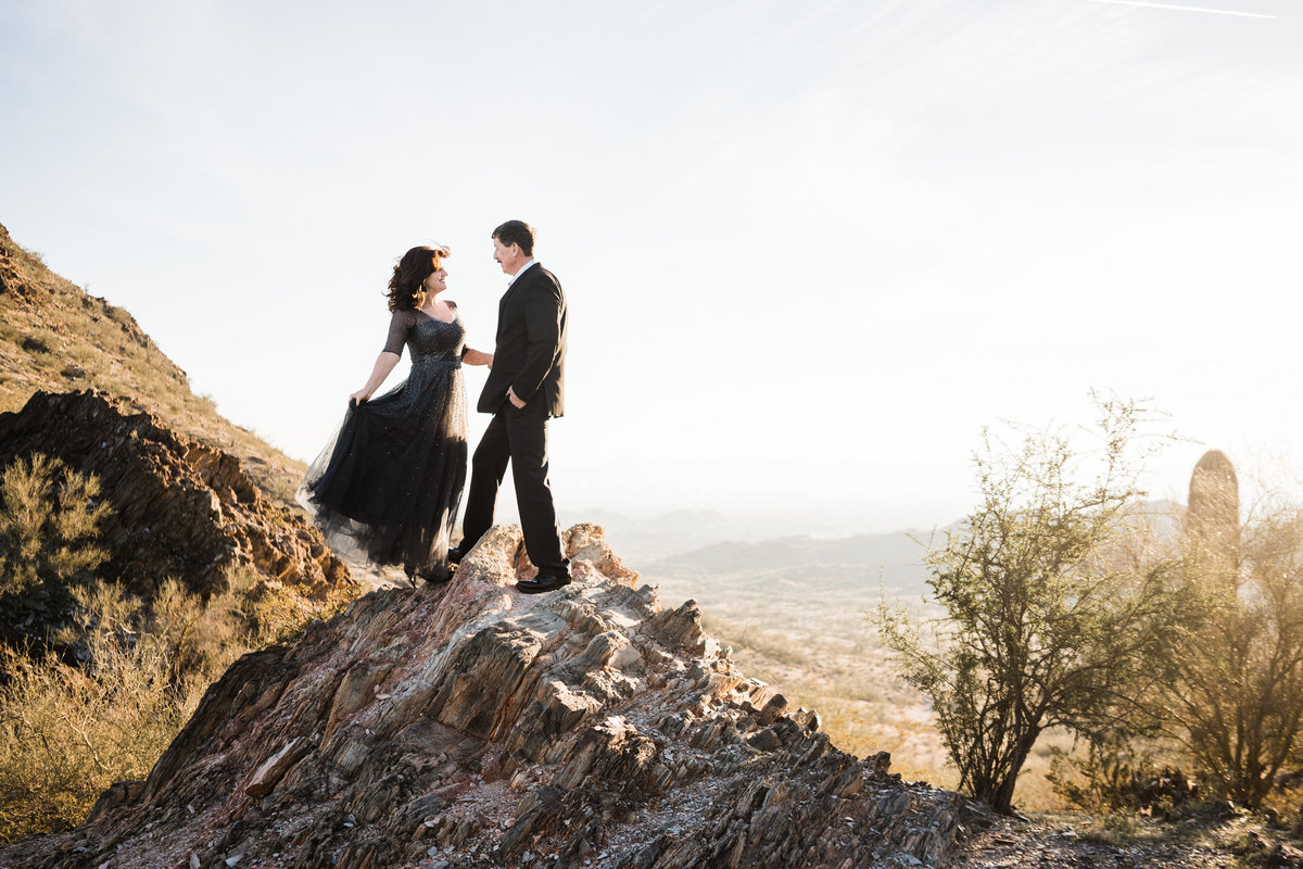Mountain Anniversary Session - Atlas Rose Photography AZ01