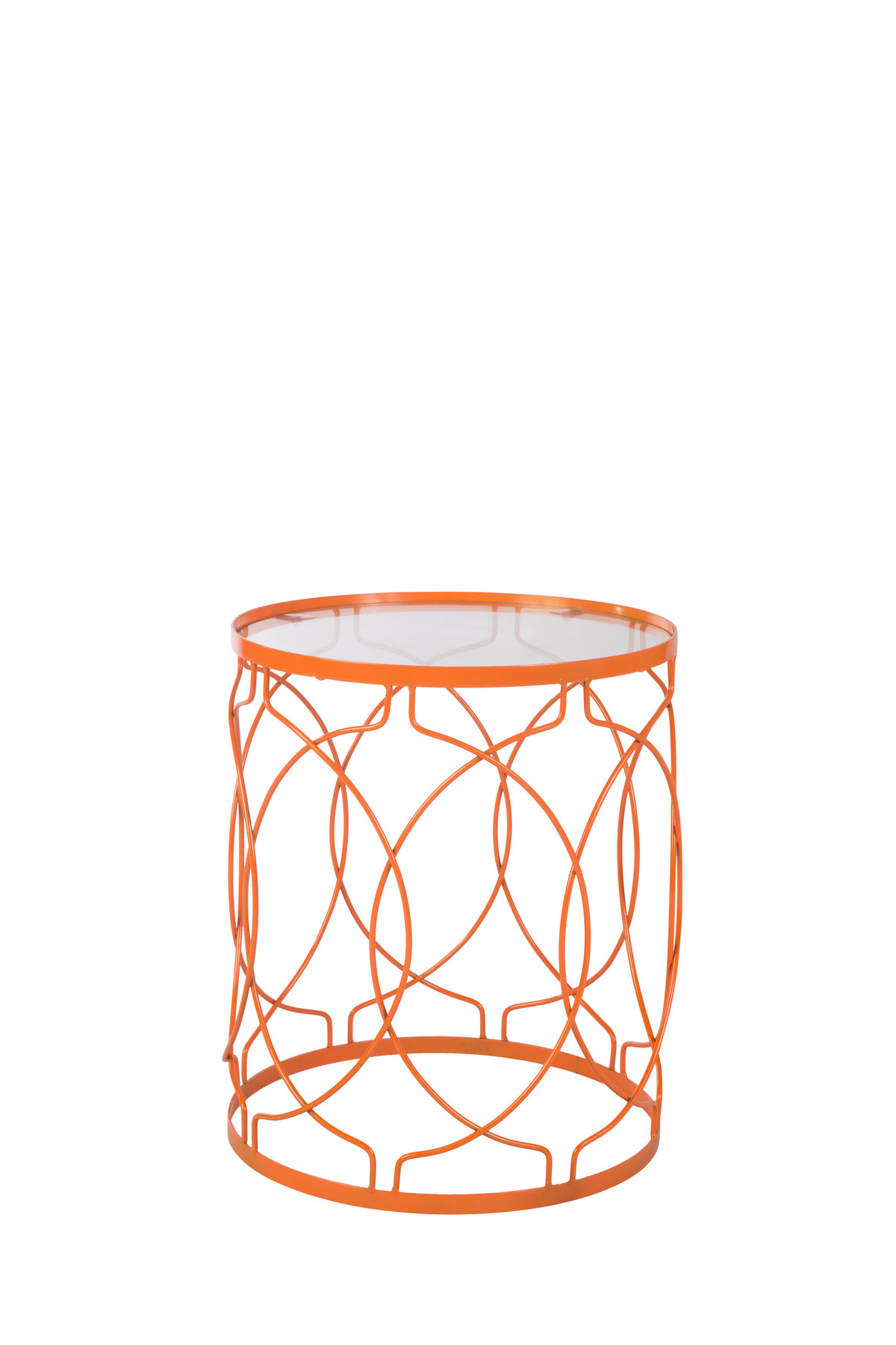 Orange Accent Table