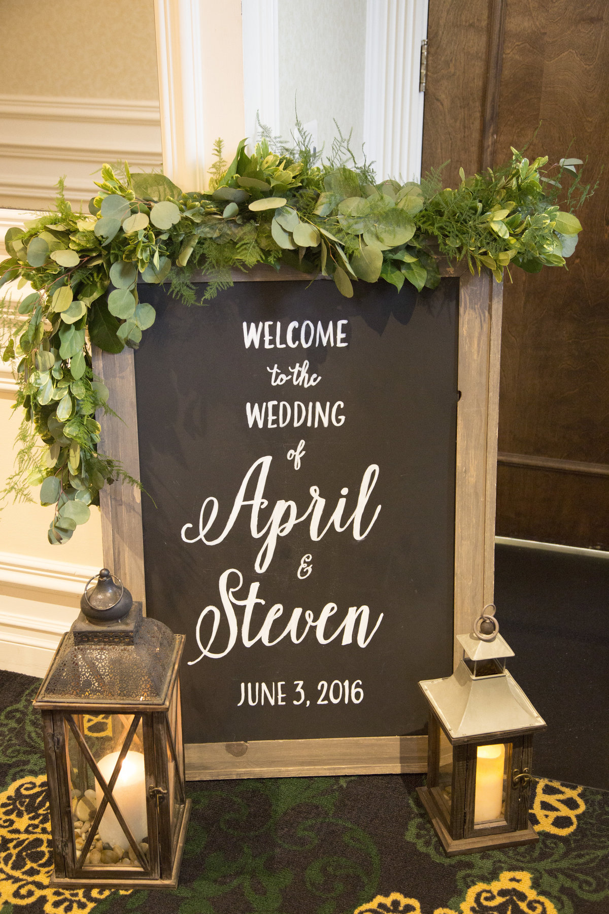 new jersey reception sign wedding photography (19)