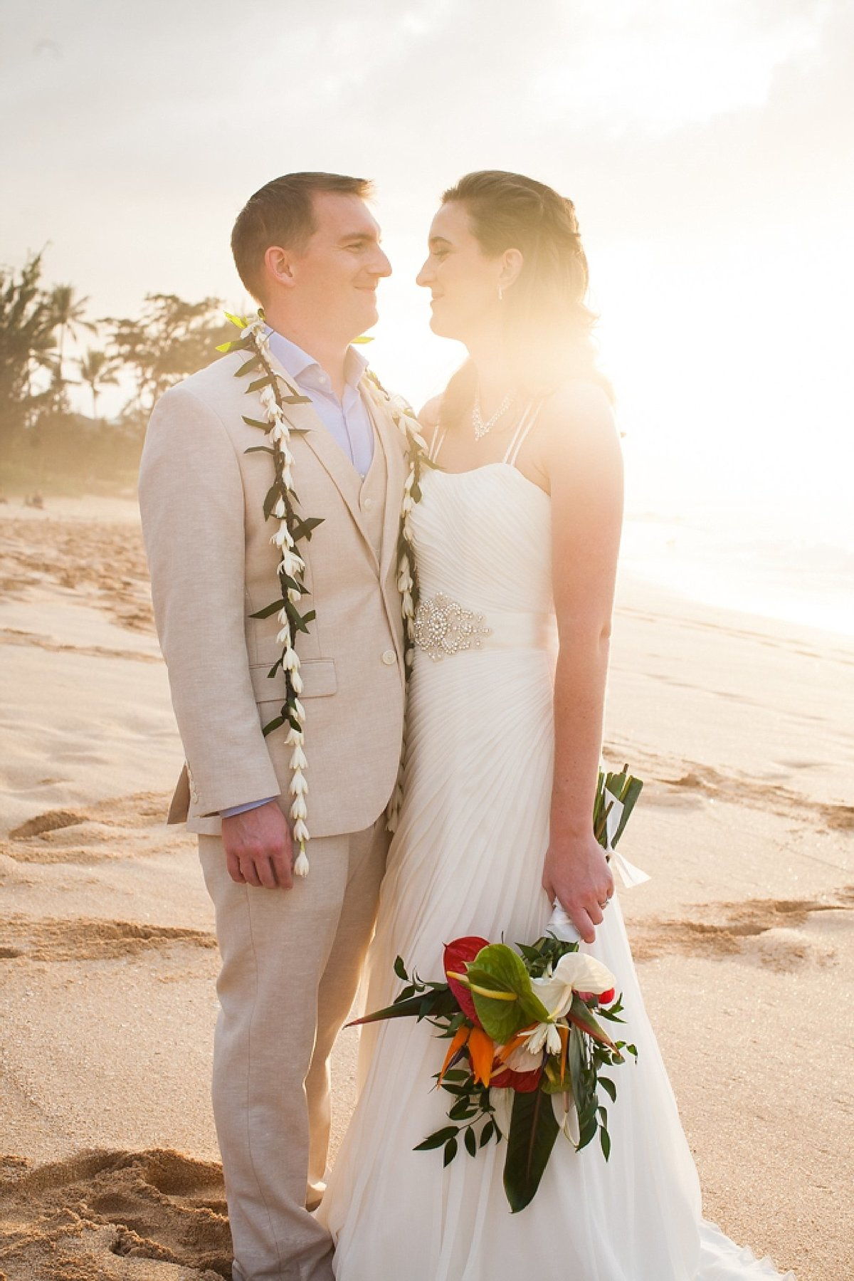 Sunset Beach Oahu Hawaii Wedding_108