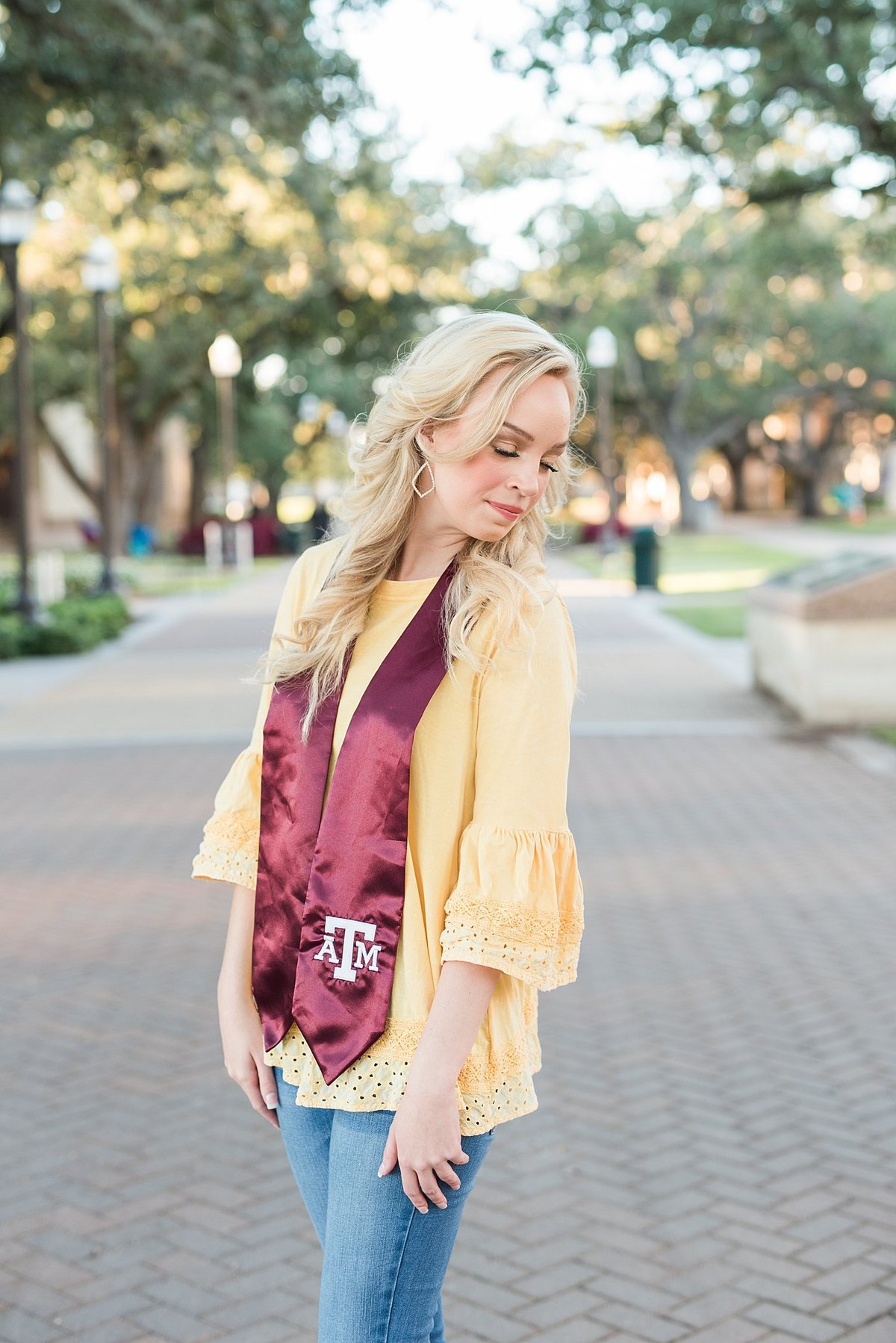 Texas A&M senior pictures College Station Texas