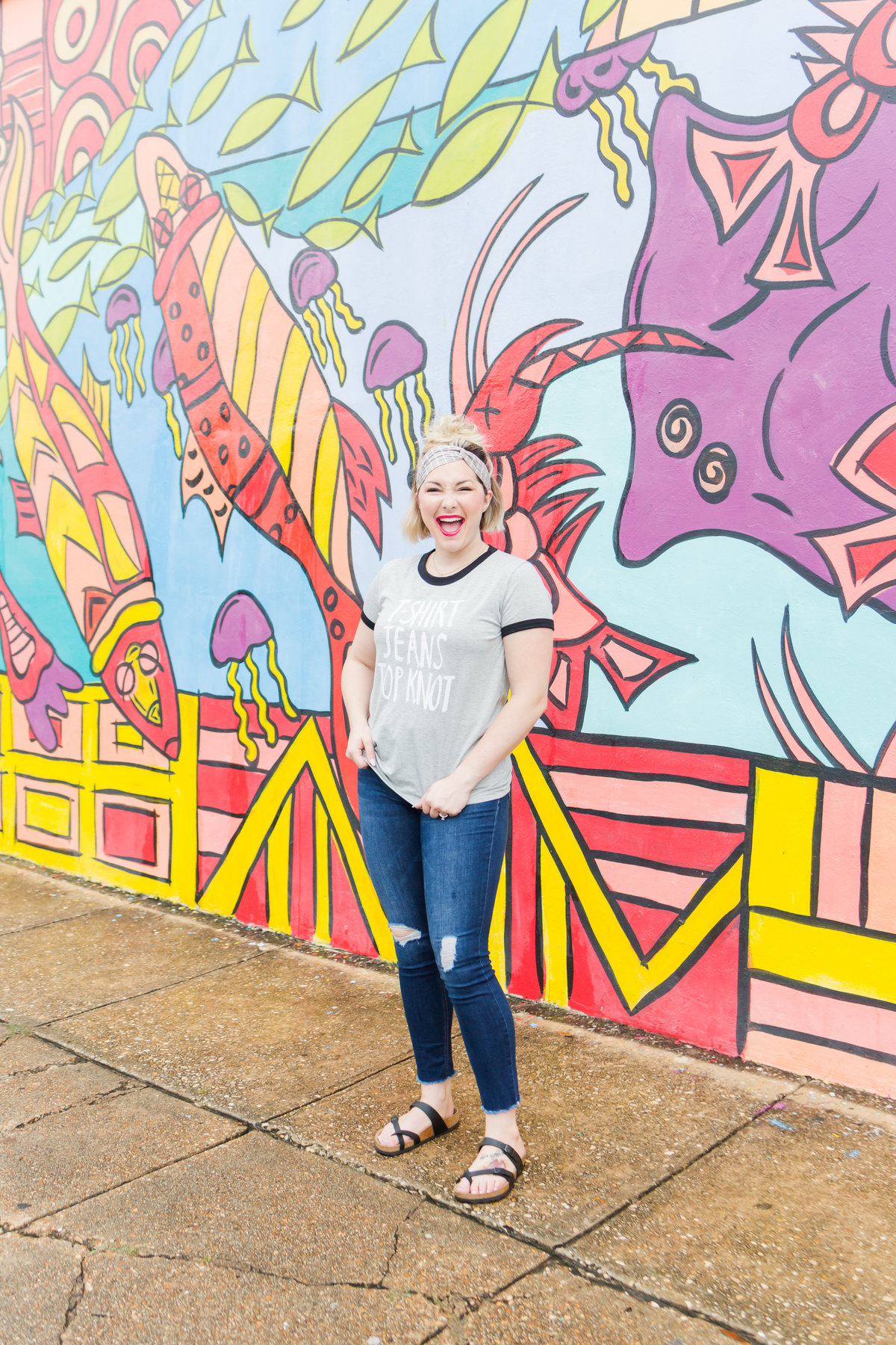 Fairhope Mural Wall Portraits by Toni Goodie Photography