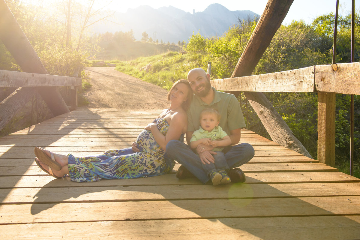 Maternity Photo Session at South Mesa Trail