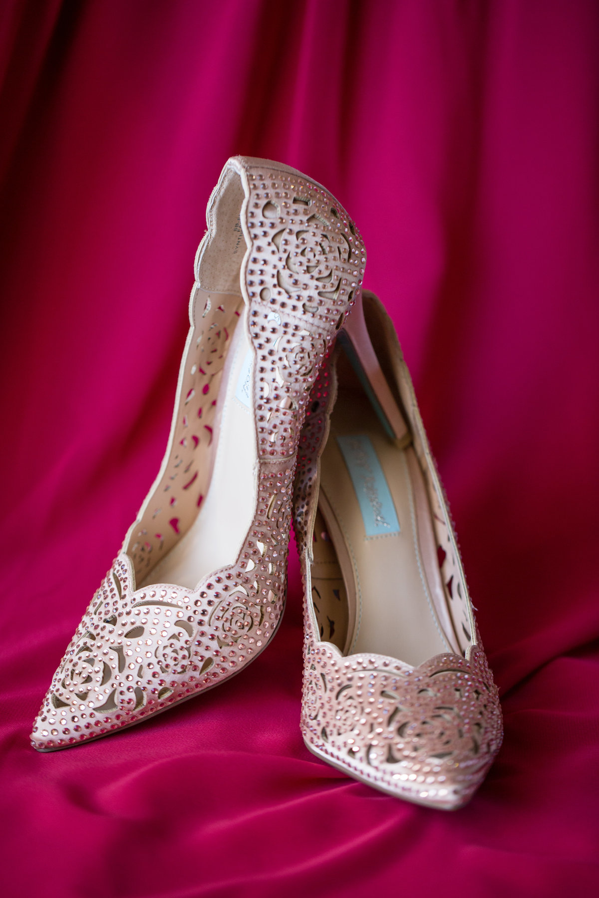 gorgeous betsey johnson bridal shoes
