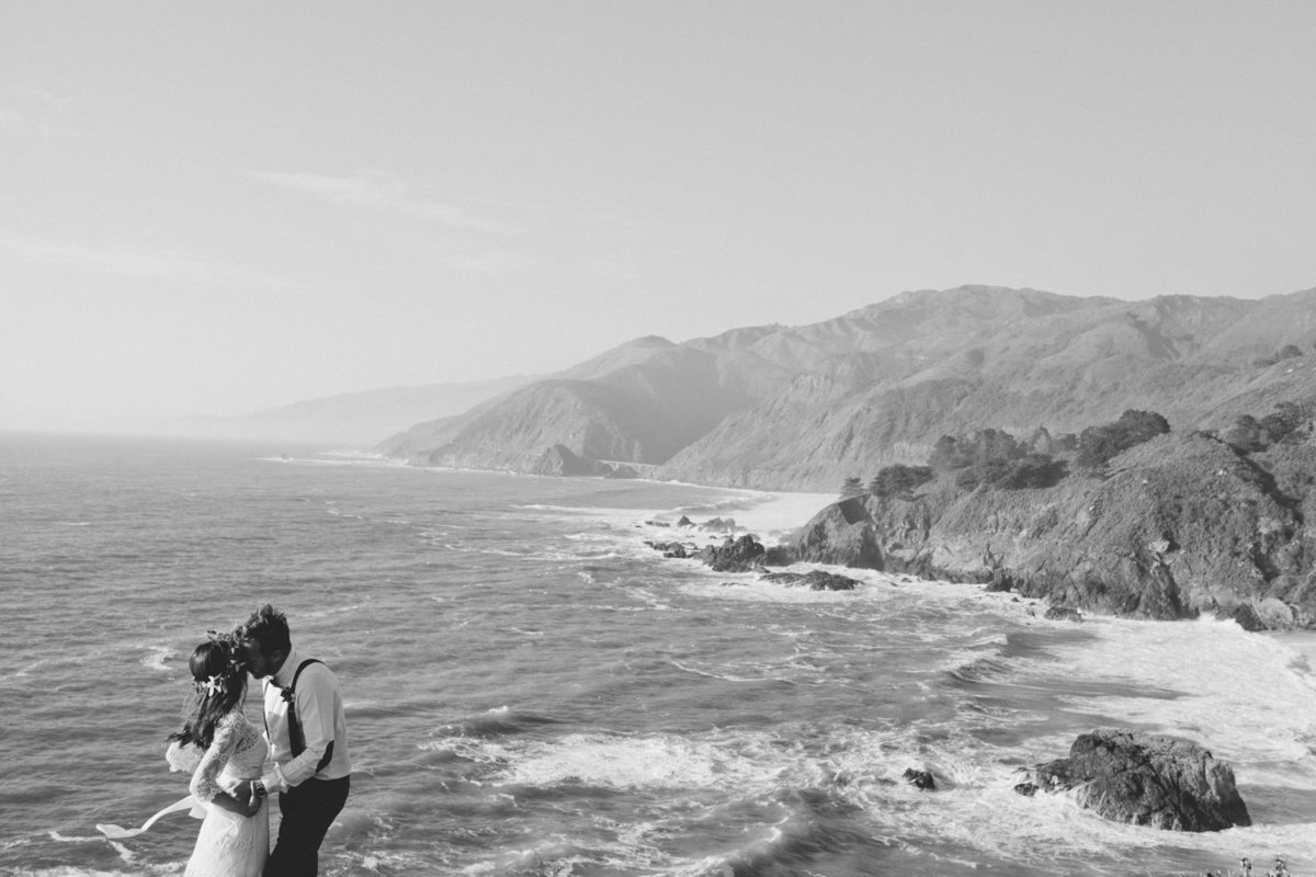 Big Sur Epic Elopement Photographer