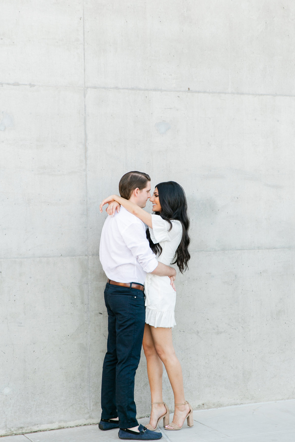 Karlie Colleen Photography - Arizona Engagement City Shoot - Kim & Tim-5