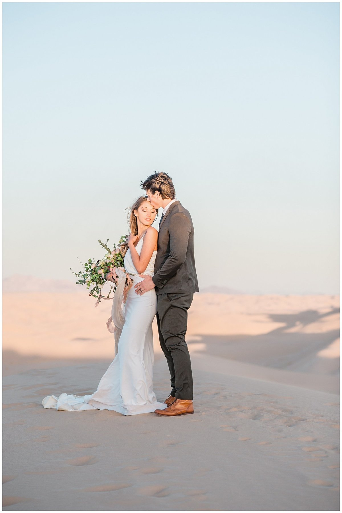 Glamis Desert Bohemian Wedding Styled elopement southern california sand dunes photo031