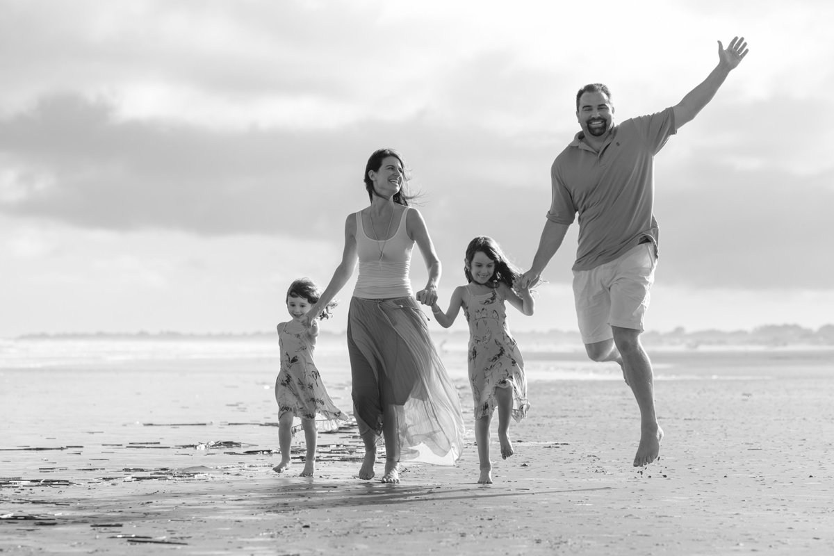 Beach Family Photography by King and Fields Studios Charleston SC