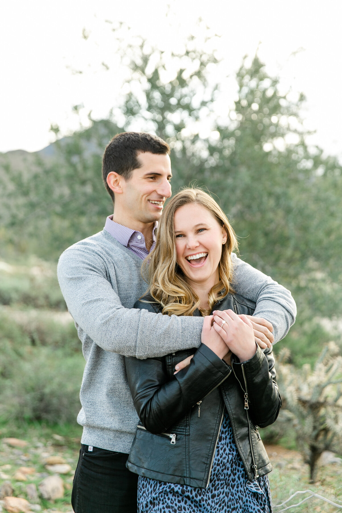 Karlie Colleen Photography - Katherine & Mike Arizona Engagement session- Andaz Wedding-49