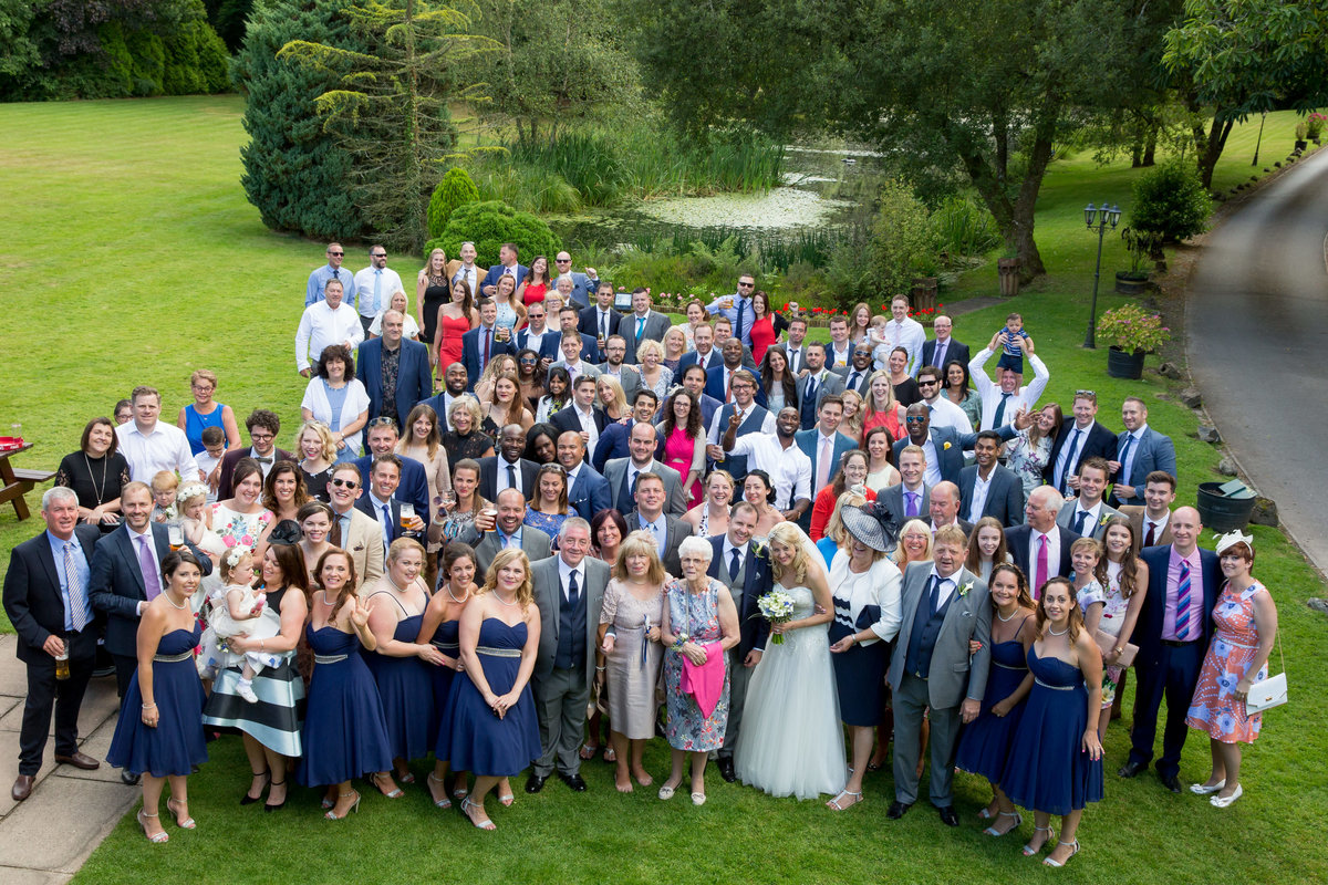 group photo at lakeview manor devon