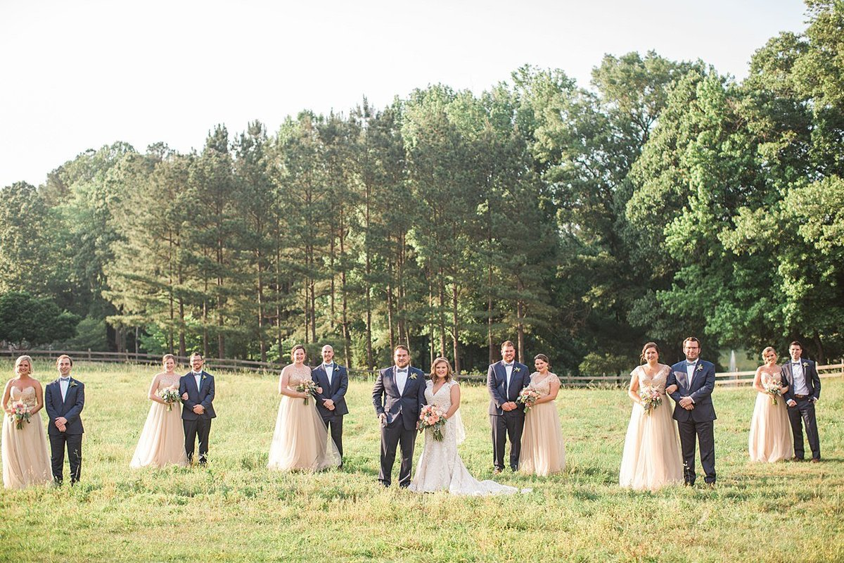 L & J Chapel in the Woods Raleigh NC Rustic Vintage Country Wedding Andrew & Tianna Photography-609