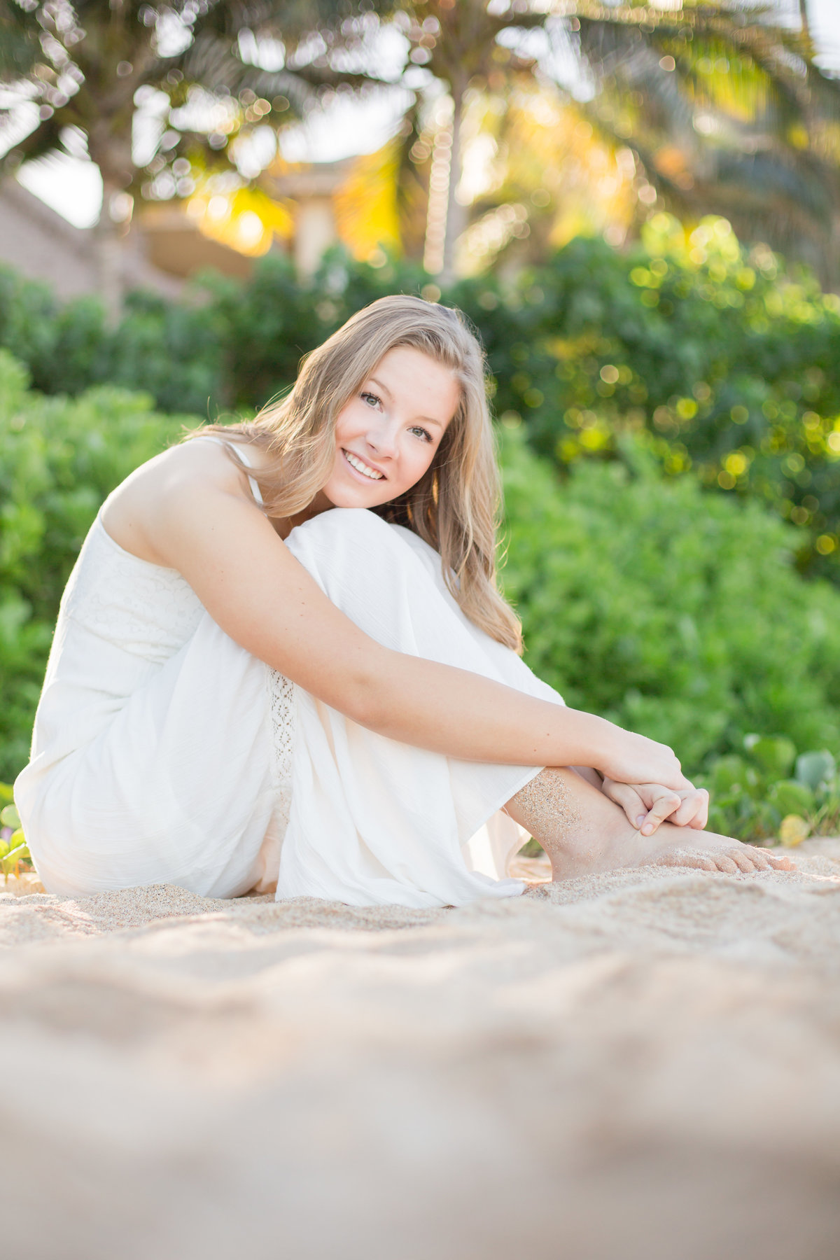 girls Maui Senior Portraits