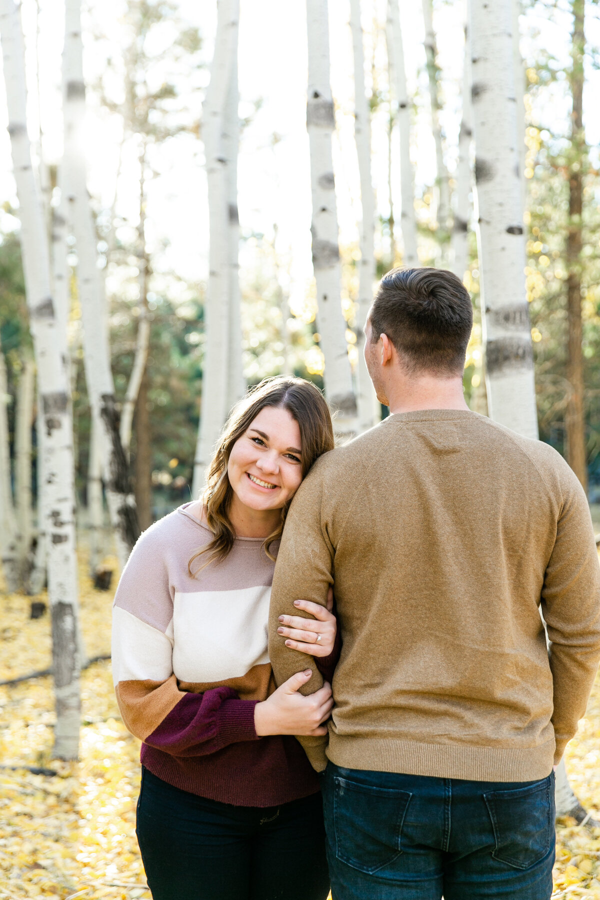 Karlie Colleen Photography - Flagstaff Arizona Engagement Photographer - Britt & Josh -95