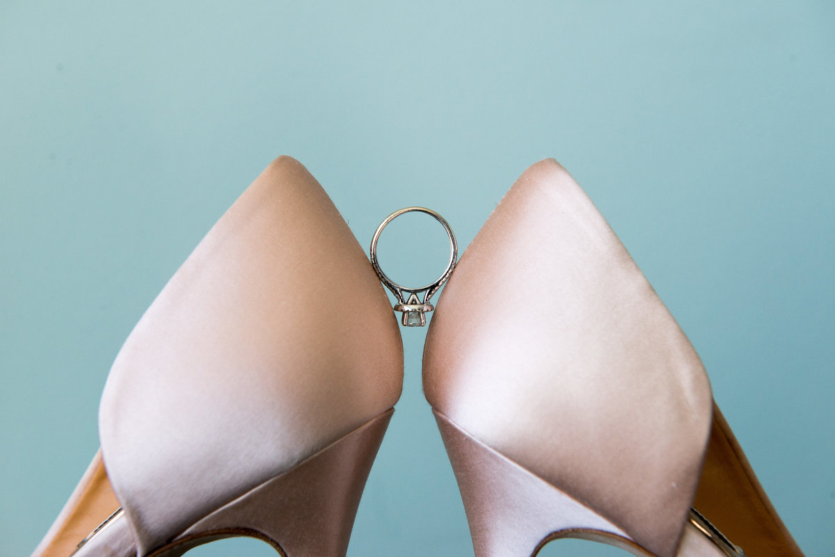 Blush Bridal Wedding Shoes