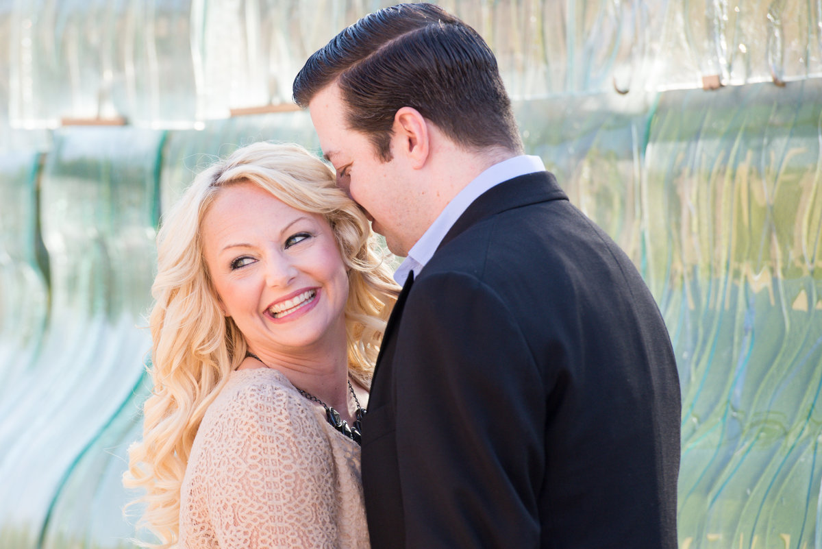 Engagement photos on the canal downtown Indianapolis