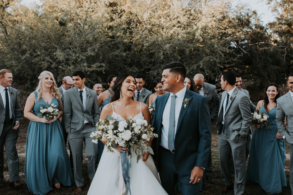 Chris + Claudia - Country Club Las Luminarias El Paso Wedding - Bridal Party-22
