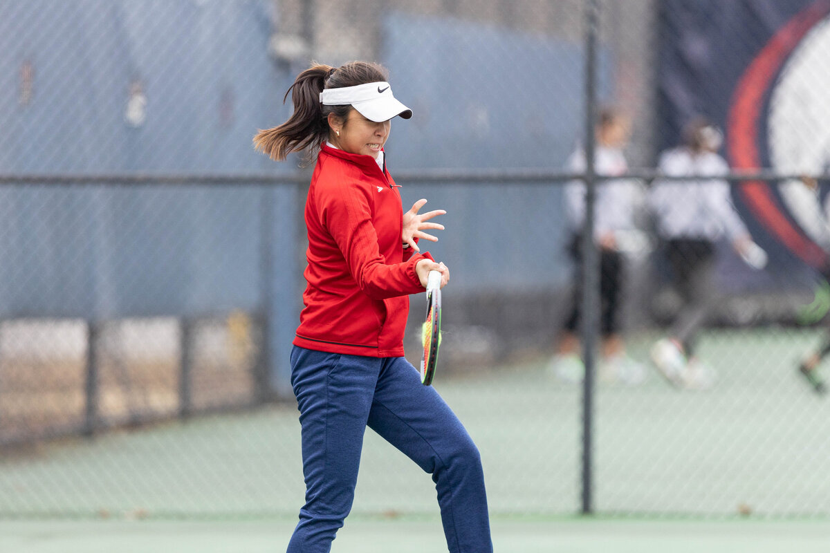 University of South Alabama women's tennis player in Mobile, Alabama.
