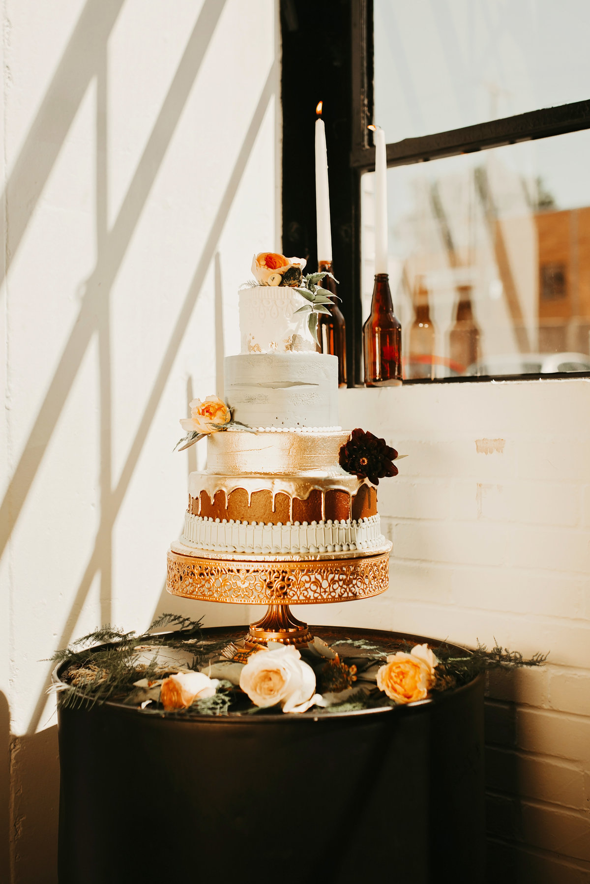 mn industrial wedding cake