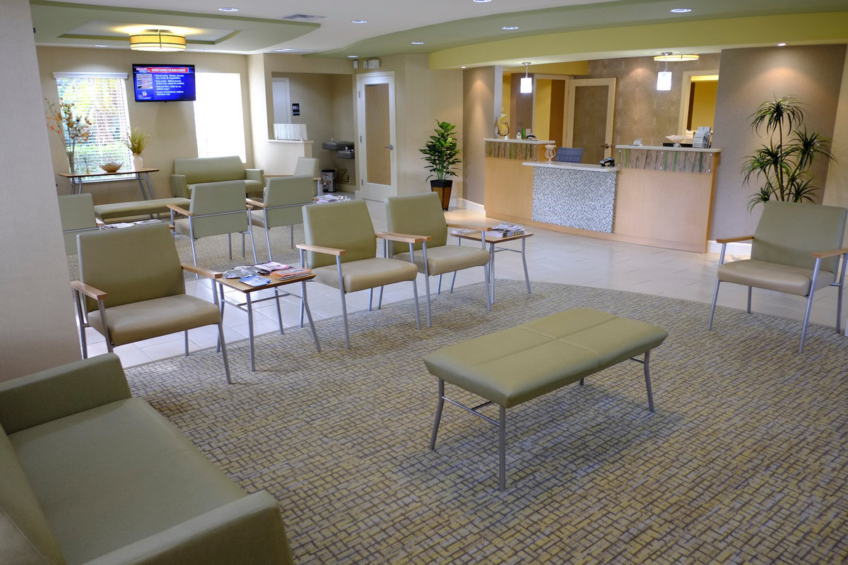 Urgent Care Design Waiting area EnviroMed Design Group Waiting Room