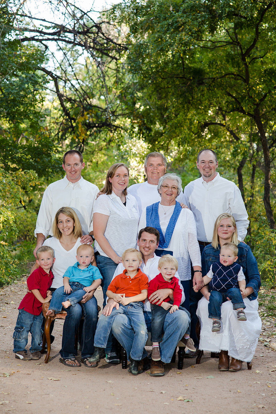 Large Family Portrait Photographer