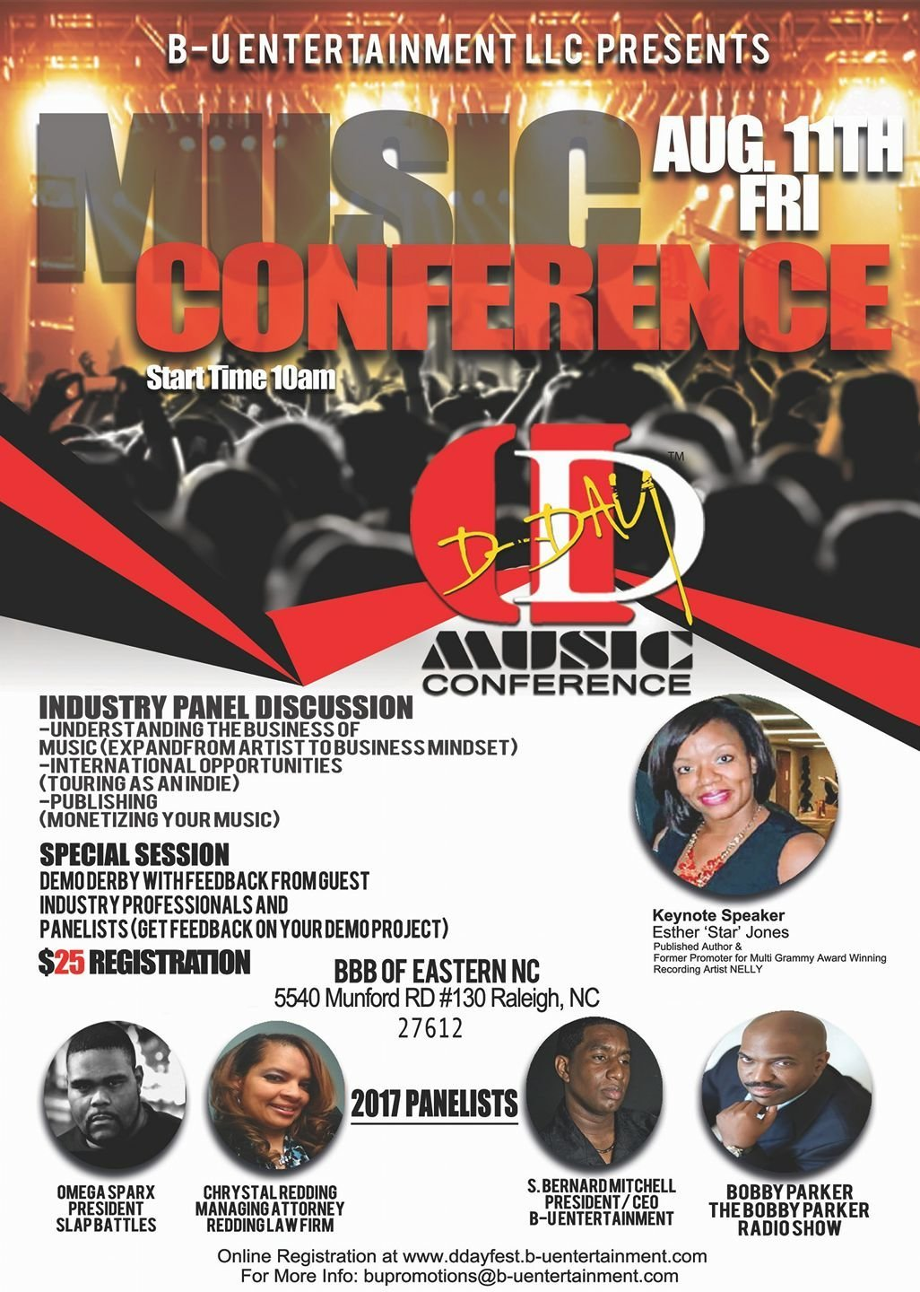 dday fest music conference