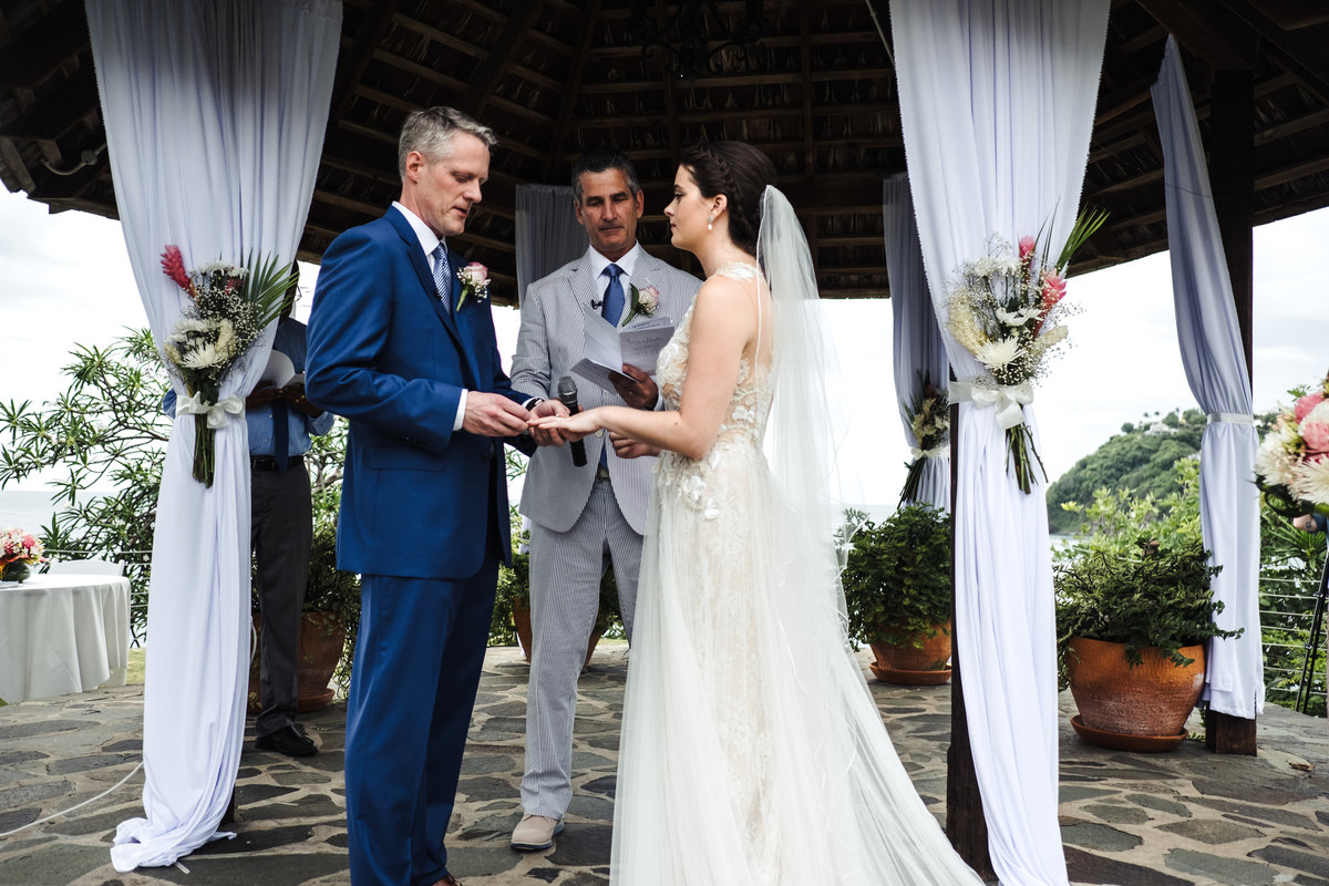 Cap Maison St Lucia Destination Wedding - 126