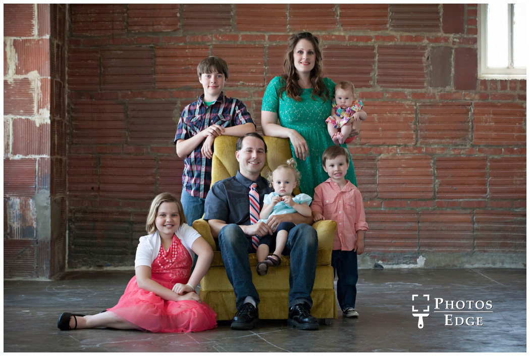 Family portraits in Kansas City