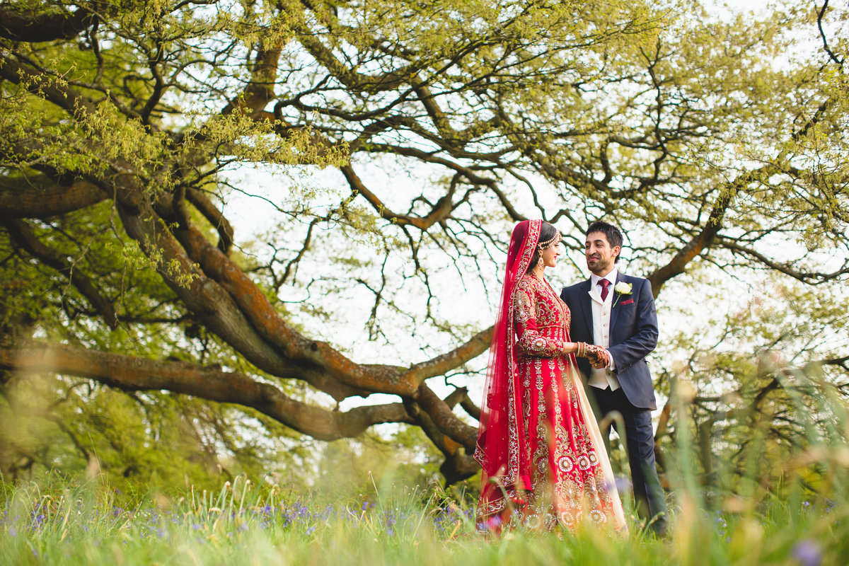 bride groom tree hedsor house asian wedding