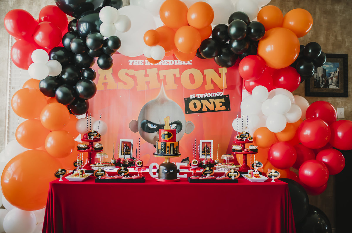 Unforgettably Sweet - Incredibles Party