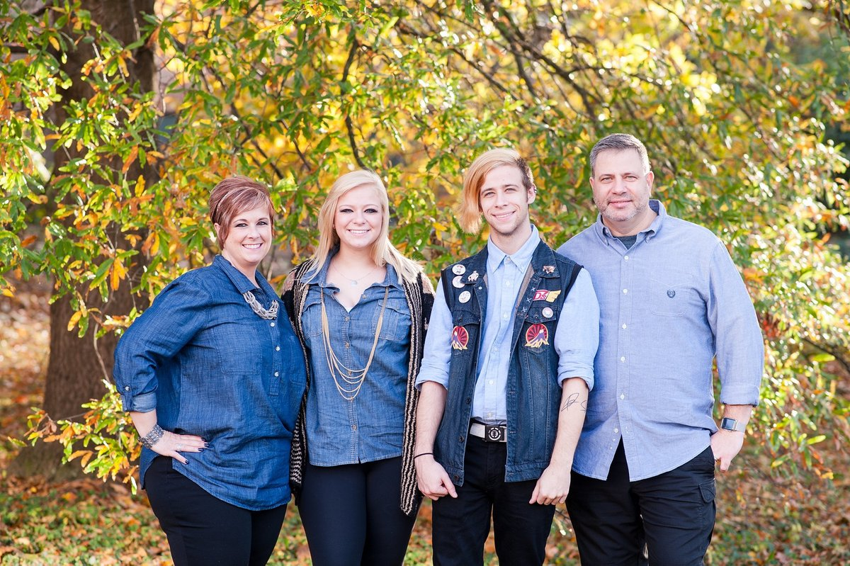 fredericksburg family portrait session