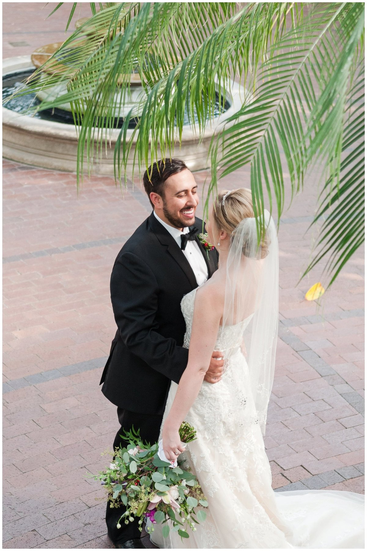Franklin Park Conservatory Wedding The Palm House Bridal Garden Grove_0036